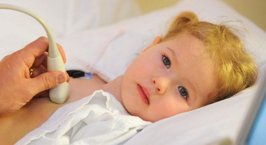 Процедура УЗИ сердца для ребенка