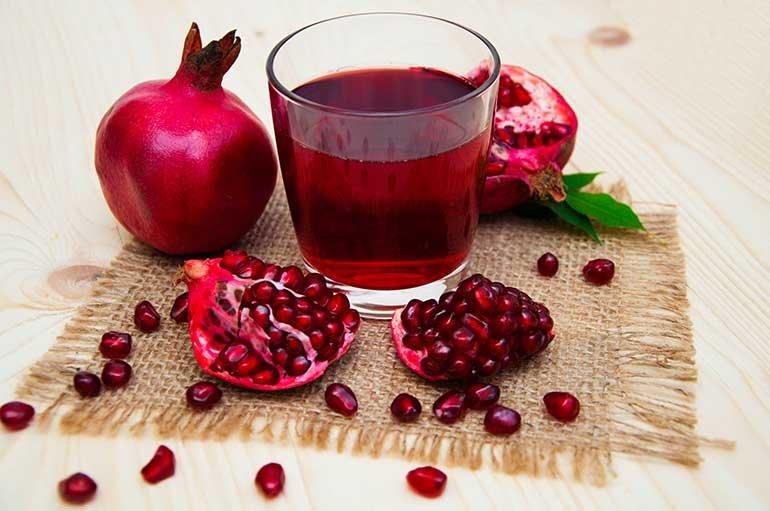 Гранатовый сок от анемии